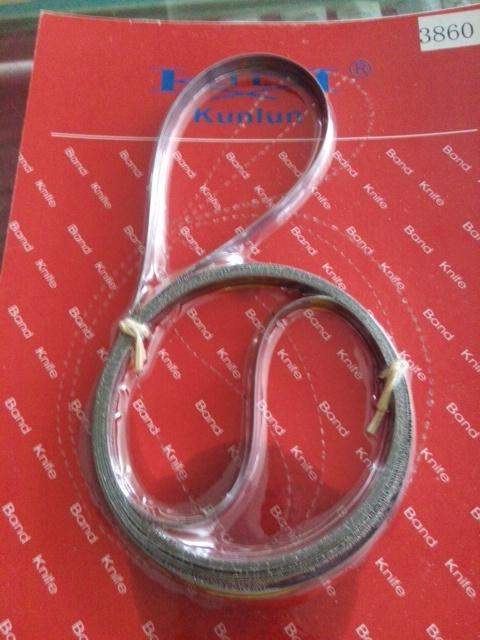 昆仑牌耐用型钢带 钢带机 带式裁剪机 运剪刀带 裁布刀带35